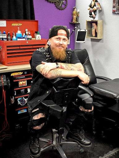 Arizona Tattoo Artist Relic
