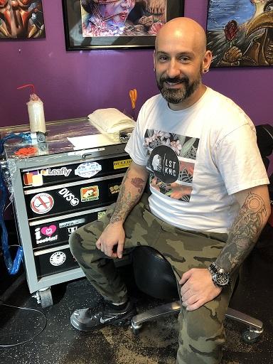 Arizona Tattoo Artist Ryan