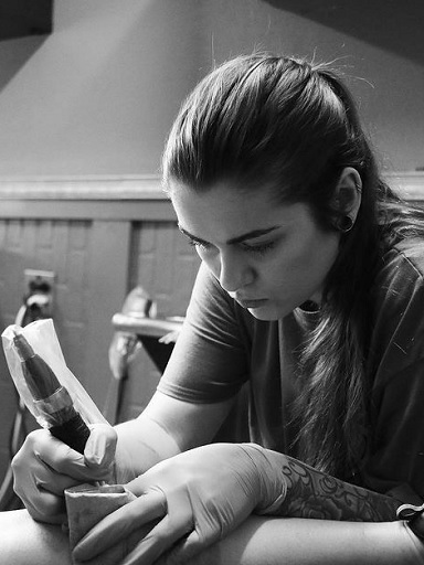 Arizona Tattoo Artist Aubrey